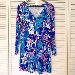 Lilly Pulitzer Paradis Dress Multi hit the spot, M